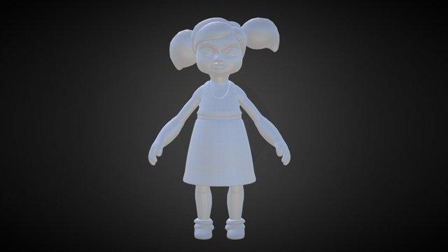 Child (WIP) 3D Model