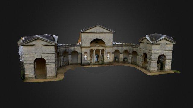 Temple - Stowe House, UK 3D Model