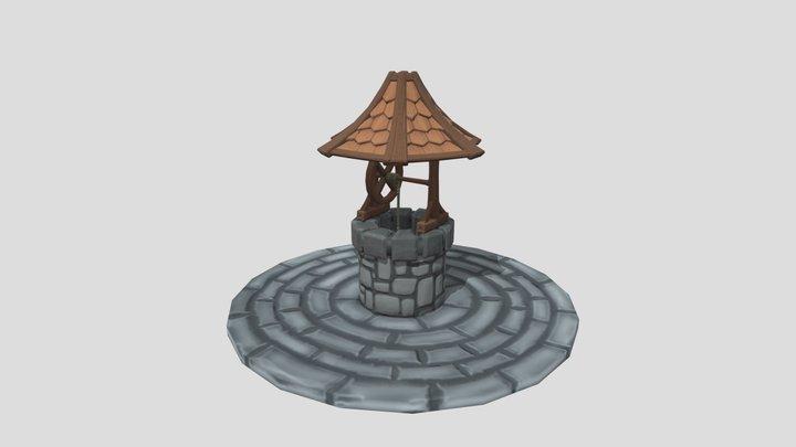 Stylized Well 3D Model