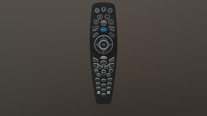 DSTV Television Remote Control 3D Model