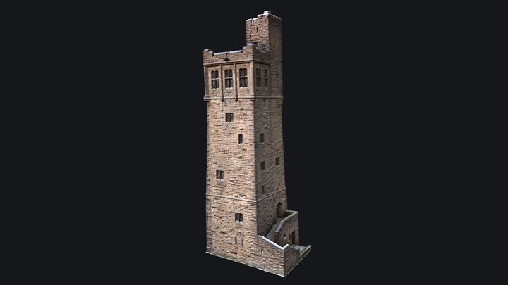 Victoria Tower of Castle Hill 3D Model