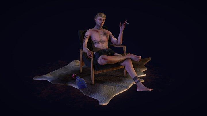 Russian Gangster - 3D Model 3D Model