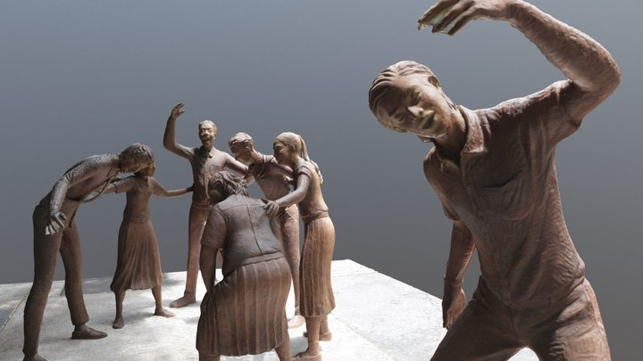 Baka Sculpture at Chulalongkorn 3D Model