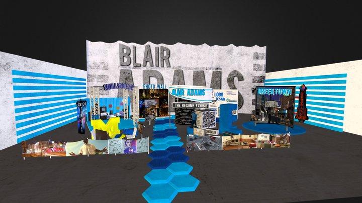 Blair Adams Resume 3D Model