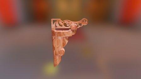 花纹斗拱 3D Model
