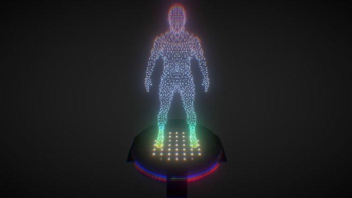 Holographic Module 3D Model