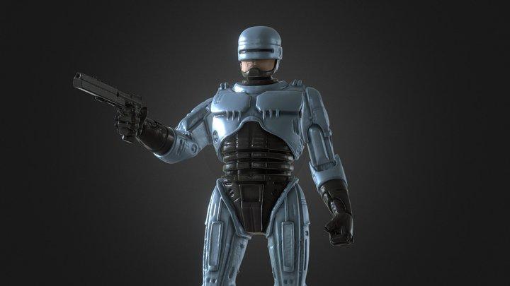 ROBOCOP INSPIRITED FIGURE 3D Model