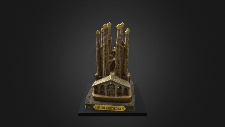 Sagrada Familia (souvenir) 3D Model