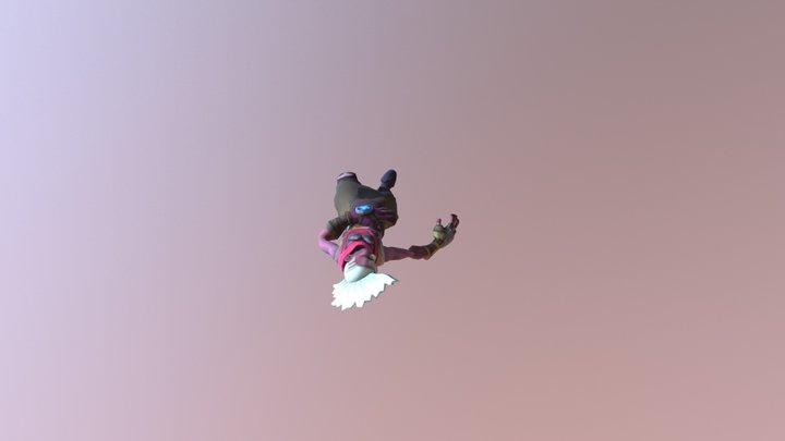 Animations on Ekko 3D Model