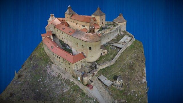 Hrad Krasna Horka 3D Model