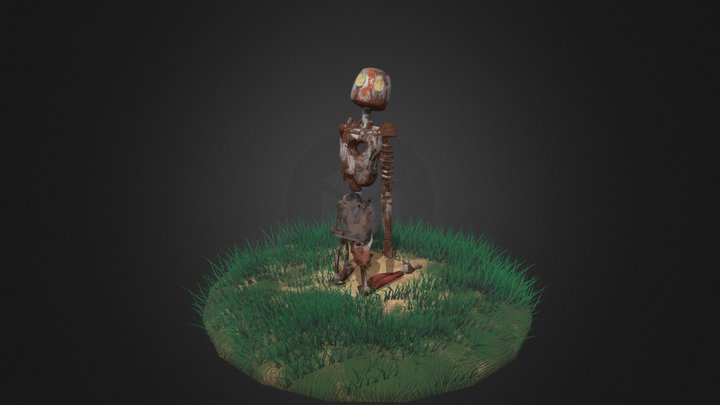 Robo_NoHeart 3D Model