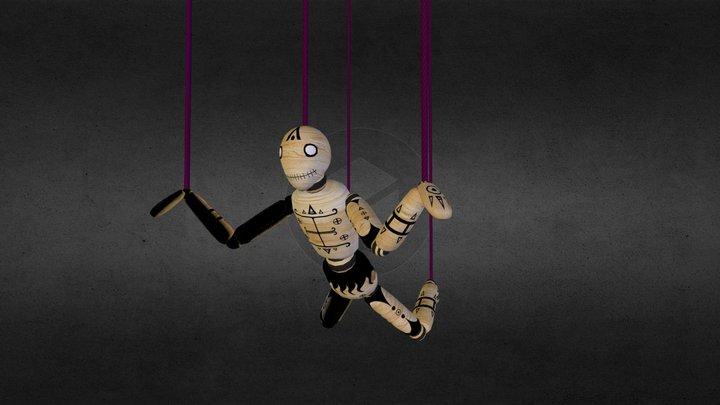 Puppet Boy 3D Model