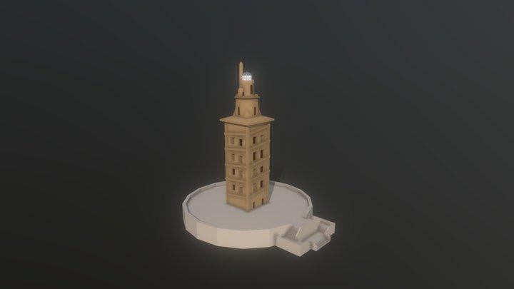 Tower of Hercules / Torre de Hercules 3D Model