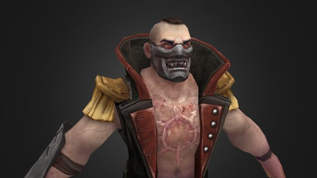 WH_Cultist Chaos_2 3D Model