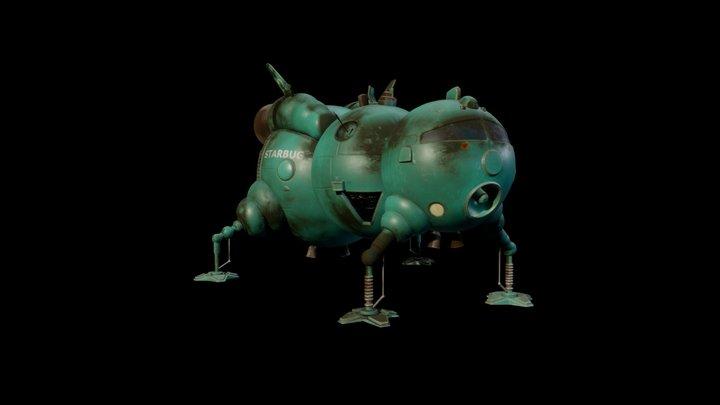 Starbug (Red Dwarf) 3D Model