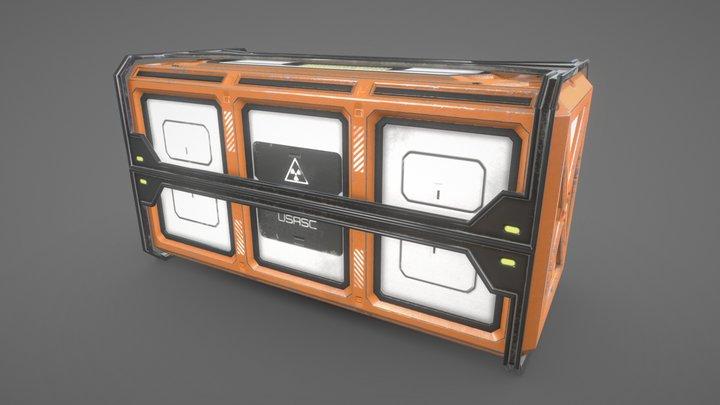 Bio-Hazard Containment Pod 3D Model