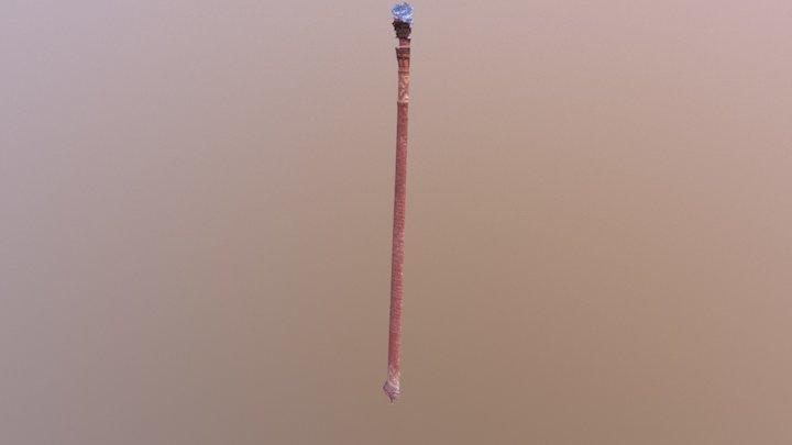 Komín, test 3D Model