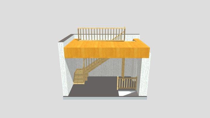schody 3.xml 3D Model