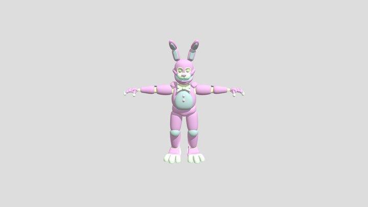 fnaf-itp-springbonnie 3D Model
