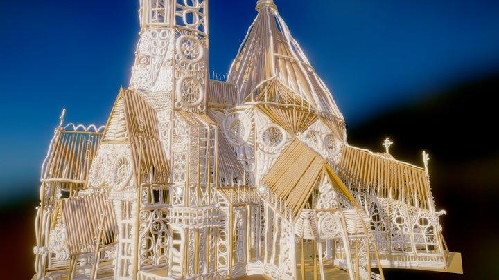 """Tilt Brush: """"Candy Cathedral"""", final version 3D Model"""