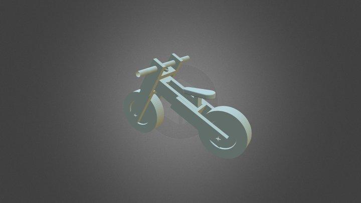 Bici andador impresa en 3D 3D Model