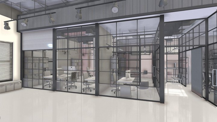 office_WAREHOUSE 3D Model