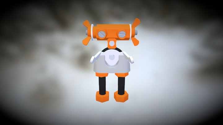 The OFFBITS- Artbit 3D Model