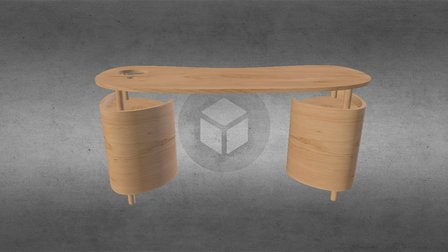 Desk 4 a 3D Model