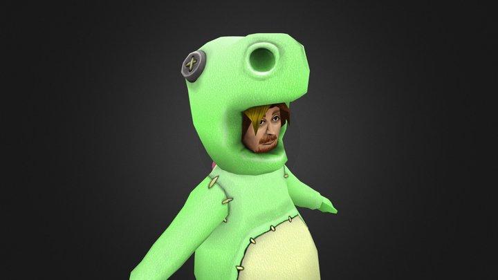 Dinosaur Costume 3D Model