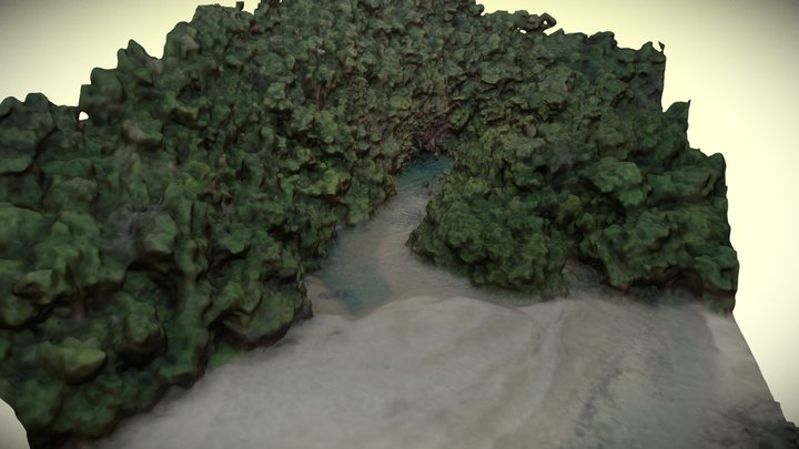 Puerto Princesa Underground River - The Outflow 3D Model