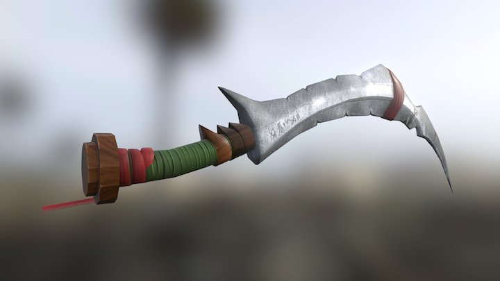 ELVIN Sword 3D Model
