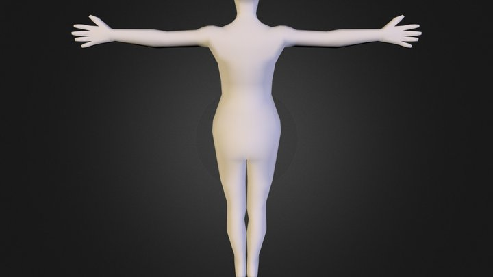 Full Body OBJ 3D Model