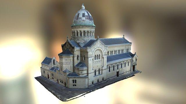 Basilique Saint-Martin - Marmoutier (37) 3D Model
