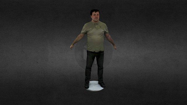 Test of Cappasity Full-body scanning booth 3D Model