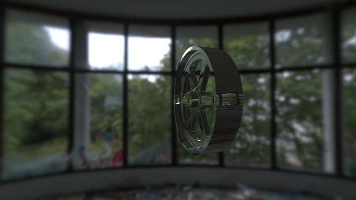Flywheel 3D Model