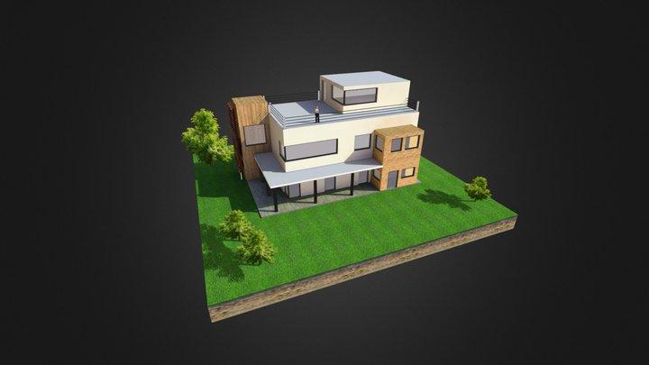 maison3 3D Model