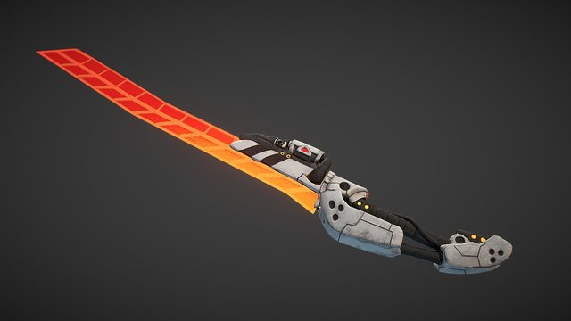 Avali Longblade 3D Model