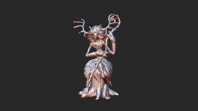 Miniature fairy printable 3D Model