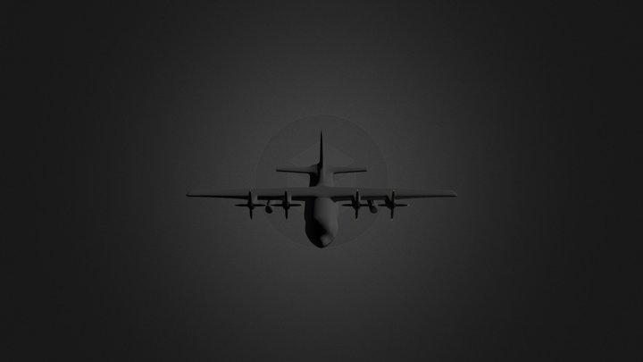C-130 Hercules 3D Model