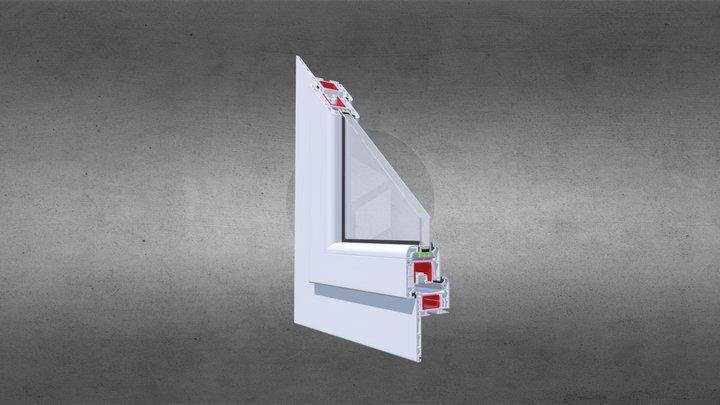 Renowvo Prosty - Pakiet 24mm - biały 3D Model