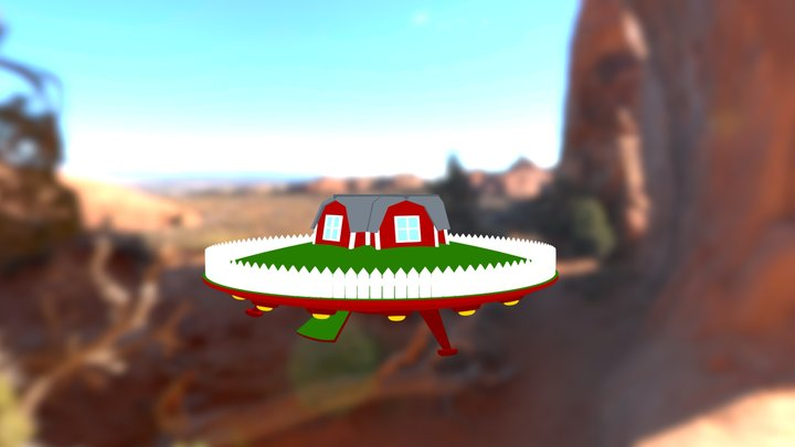 Spacesheep's UFO 3D Model
