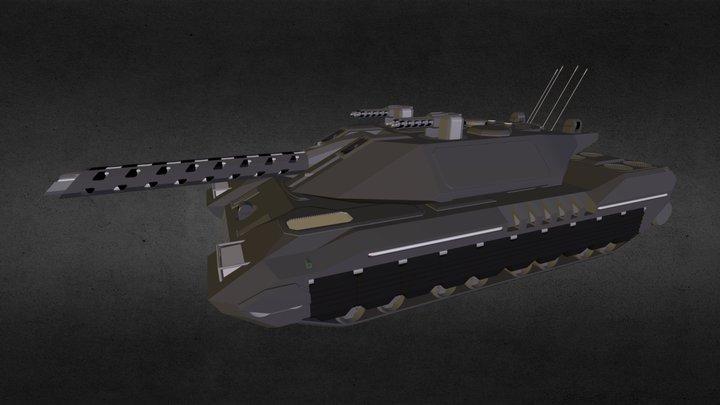 TBT-75 ATLAS 3D Model