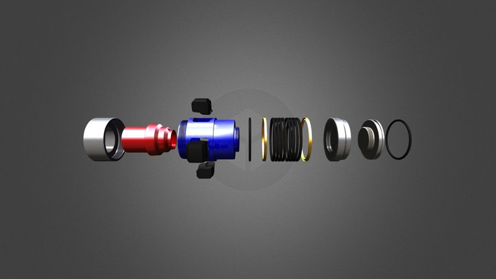 Crown Plug 3D Model