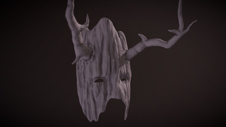 Mask sculptjanuary18 day02 challenge 3D Model