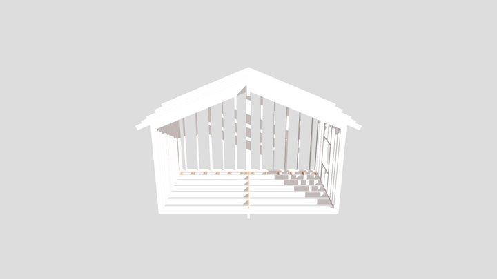 1349 Tillbyggnad 3D Model