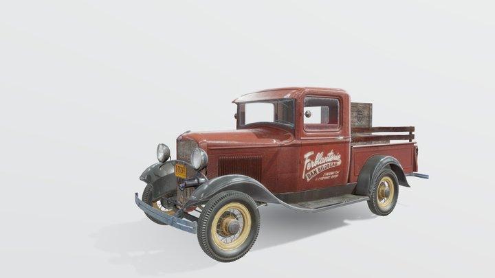 Ford Model B Pickup (1932) 3D Model