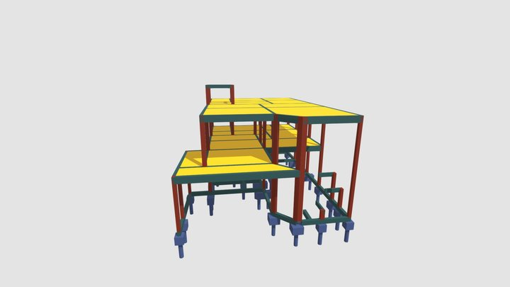 DXF 3D Model
