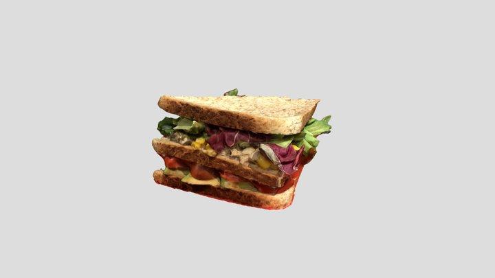 3D Sandwich 3D Model