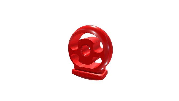 Подушка глушителя ВАЗ 2110-21213 3D Model