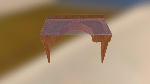 Desk 2.0 3D Model